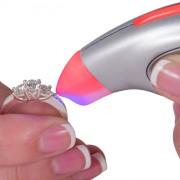 DI770 New! Testerossa Simultaneous Diamond, Moissanite & White Sapphire Tester- from GEMORO