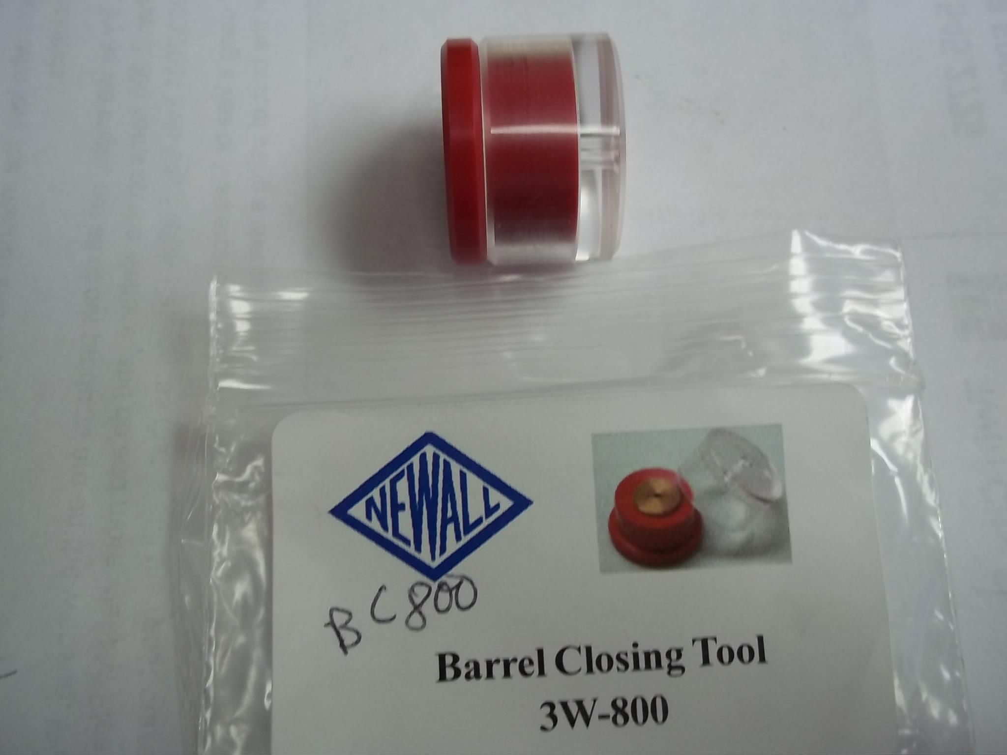 BC800 Barrel Closing Tool- Newall # 3W-800