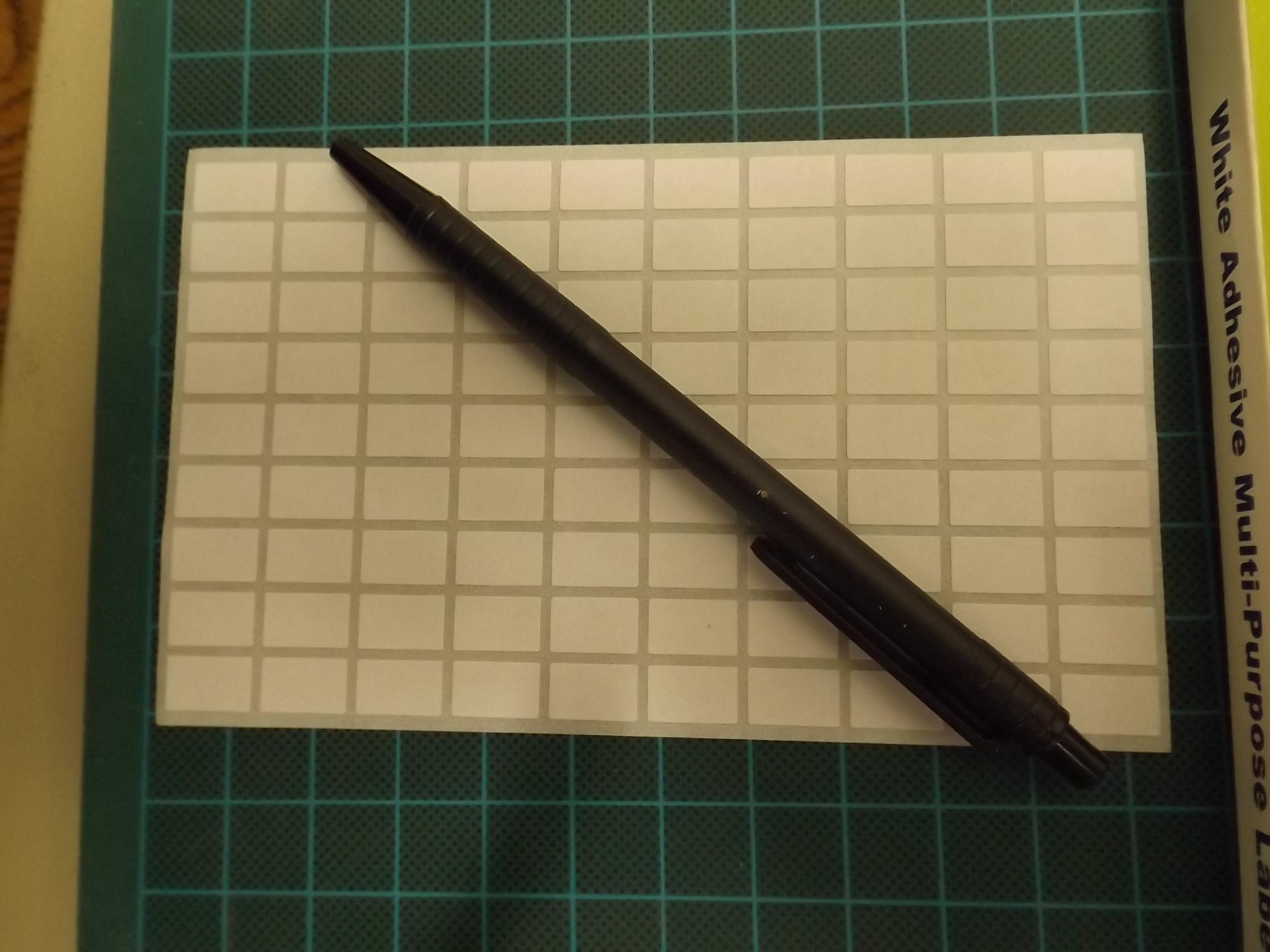 MT508S White Adhesive Multi-Purpose Labels--rectangular