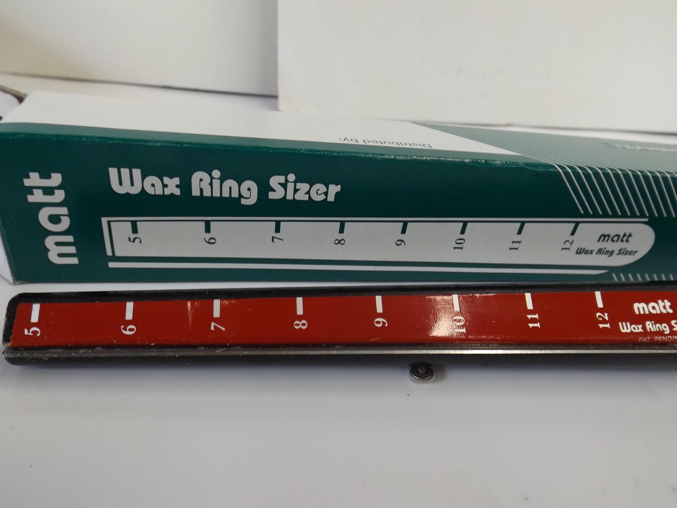 CA2890 Matt Ring Tube Sizer-Grobet #21.02890