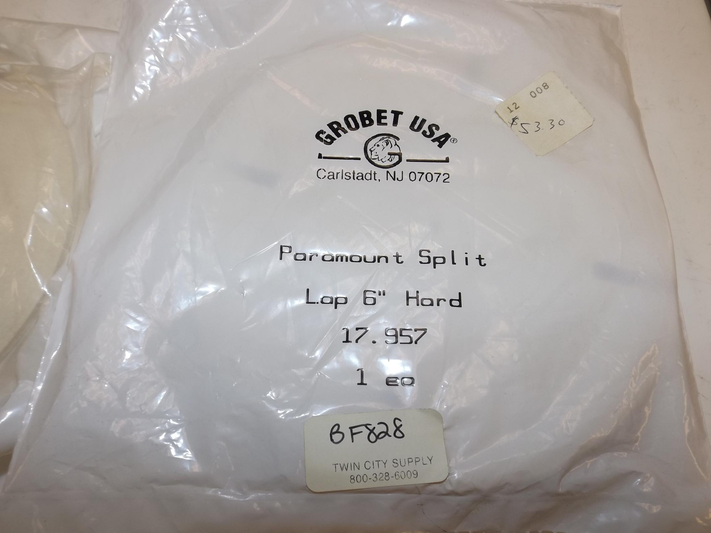 "BF828 Paramount Felt Split Laps-- 6"" Hard Grobet # 17.957"