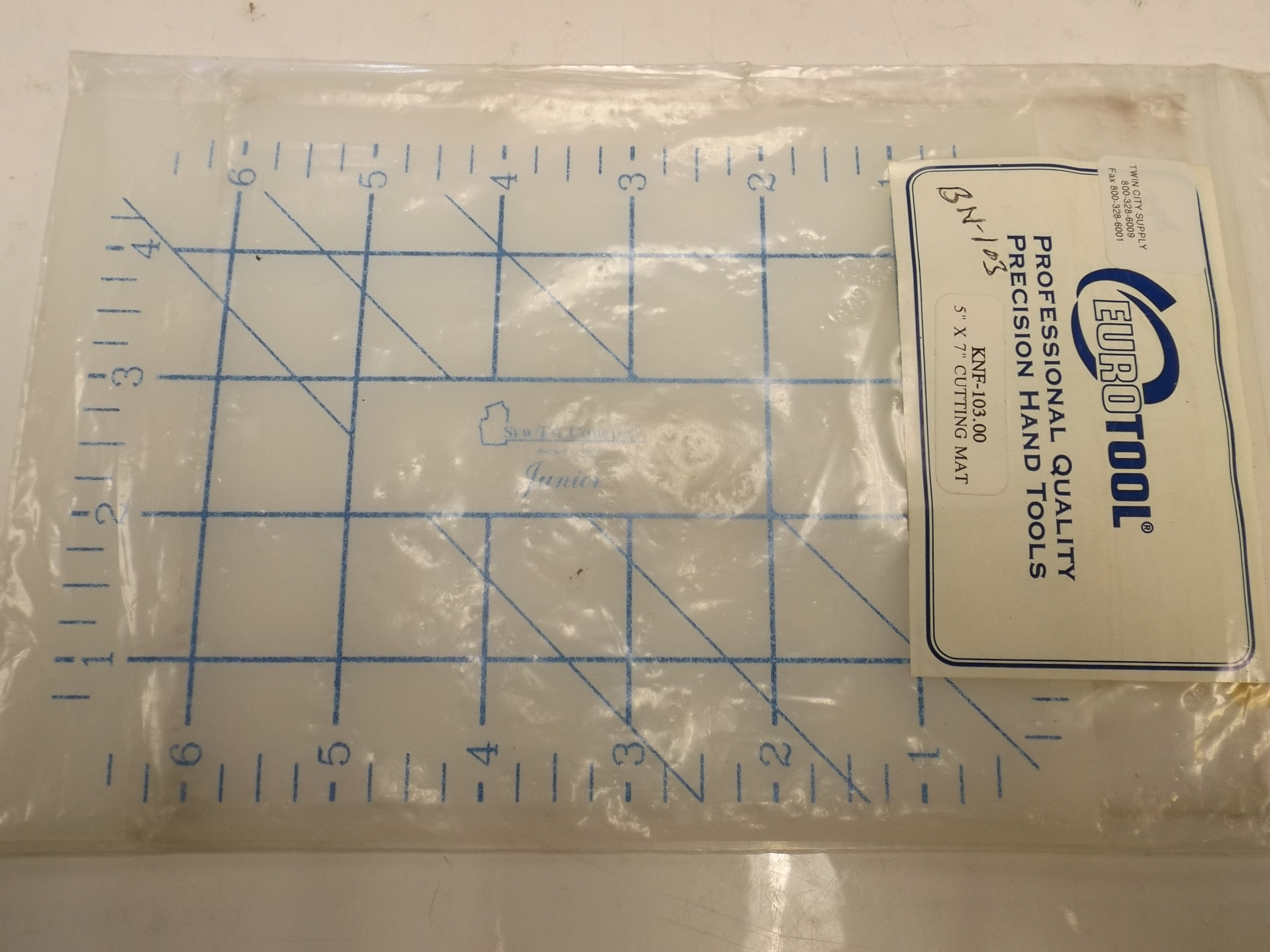 "BN103 Cutting Mat 5"" x 7"" Eurotool"