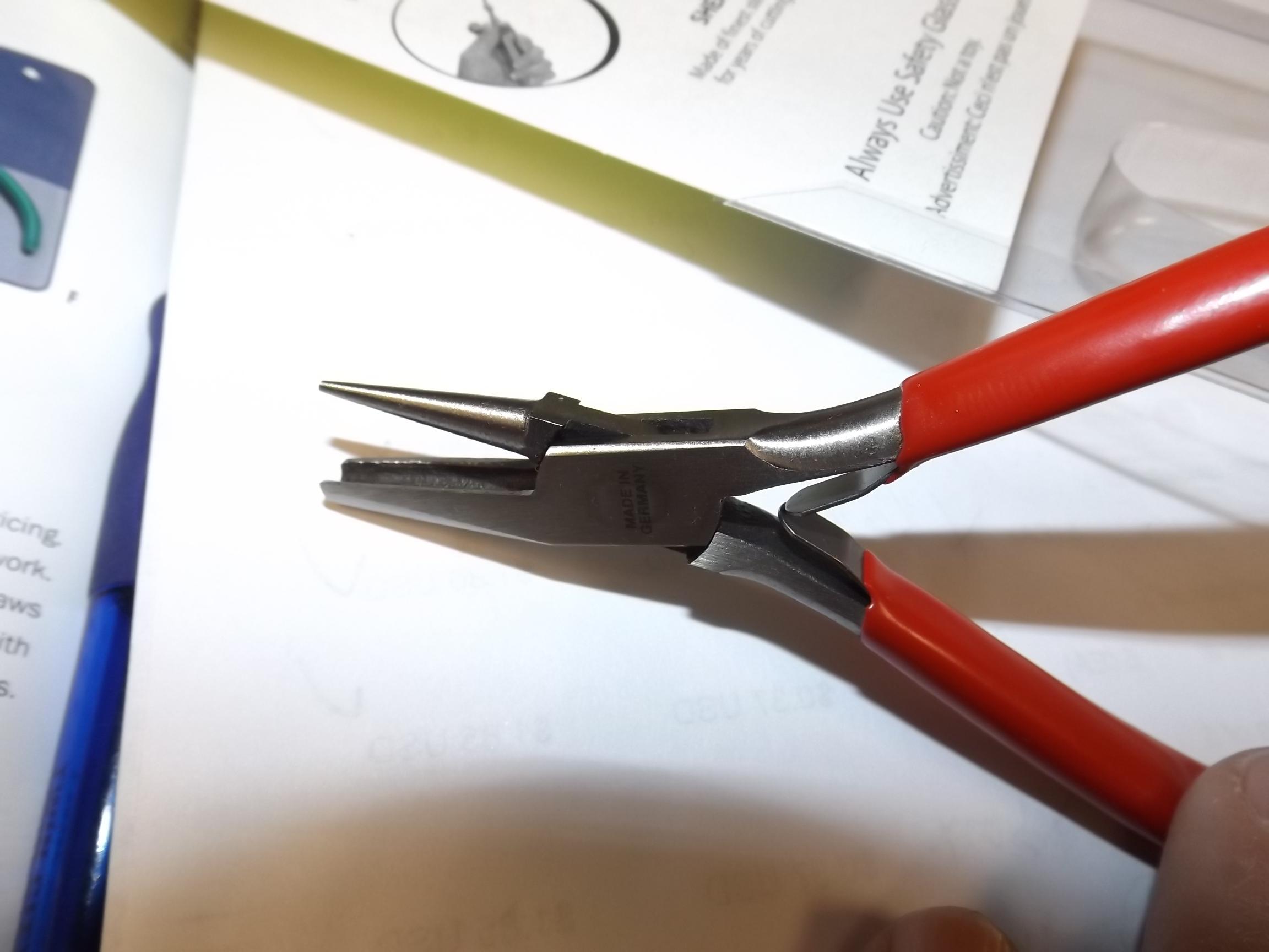 PL745 Bending Pliers- Round/Concave- Eurotool PLR-745.00