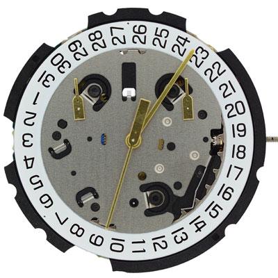 ETA G10.211/212 Quartz Watch Movement- Date @ 4