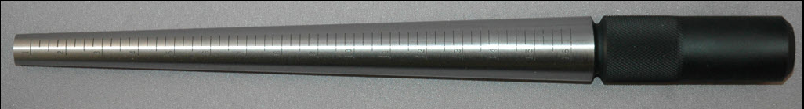MD200 Steel Ring Mandrel - with Groove -EvineLive (Formerly Shop HQ-Shop NBC) approved item/ SUSPENDED