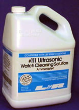 CL112 L&R #111 Ultrasonic Watch Cleaning Solution--Ammoniated