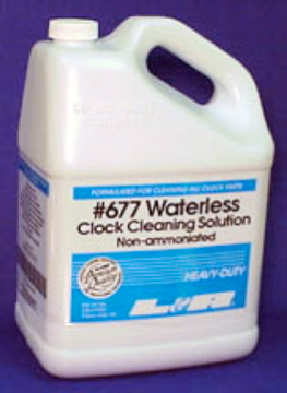 CL135  L&R #677  Waterless Clock Cleaning Solution