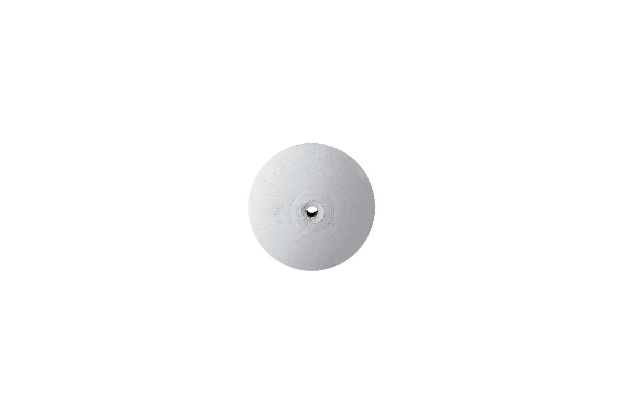 "ST1370 Silicone Knife Edge Wheel, 7/8"", White, 100 Grit-Grobet # 10.01370"