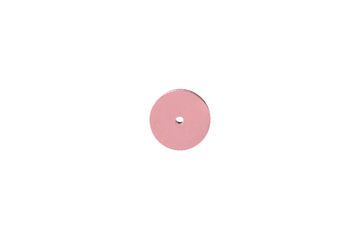 "ST1381 Silicone Square Edge Wheel, 7/8"" x 1/8"", Pink, 120 Grit- Grobet # 10.01381"