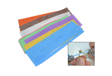 PS10.022 New! Slurry Coated Polishing Strips-Assorted Grobet #10.022