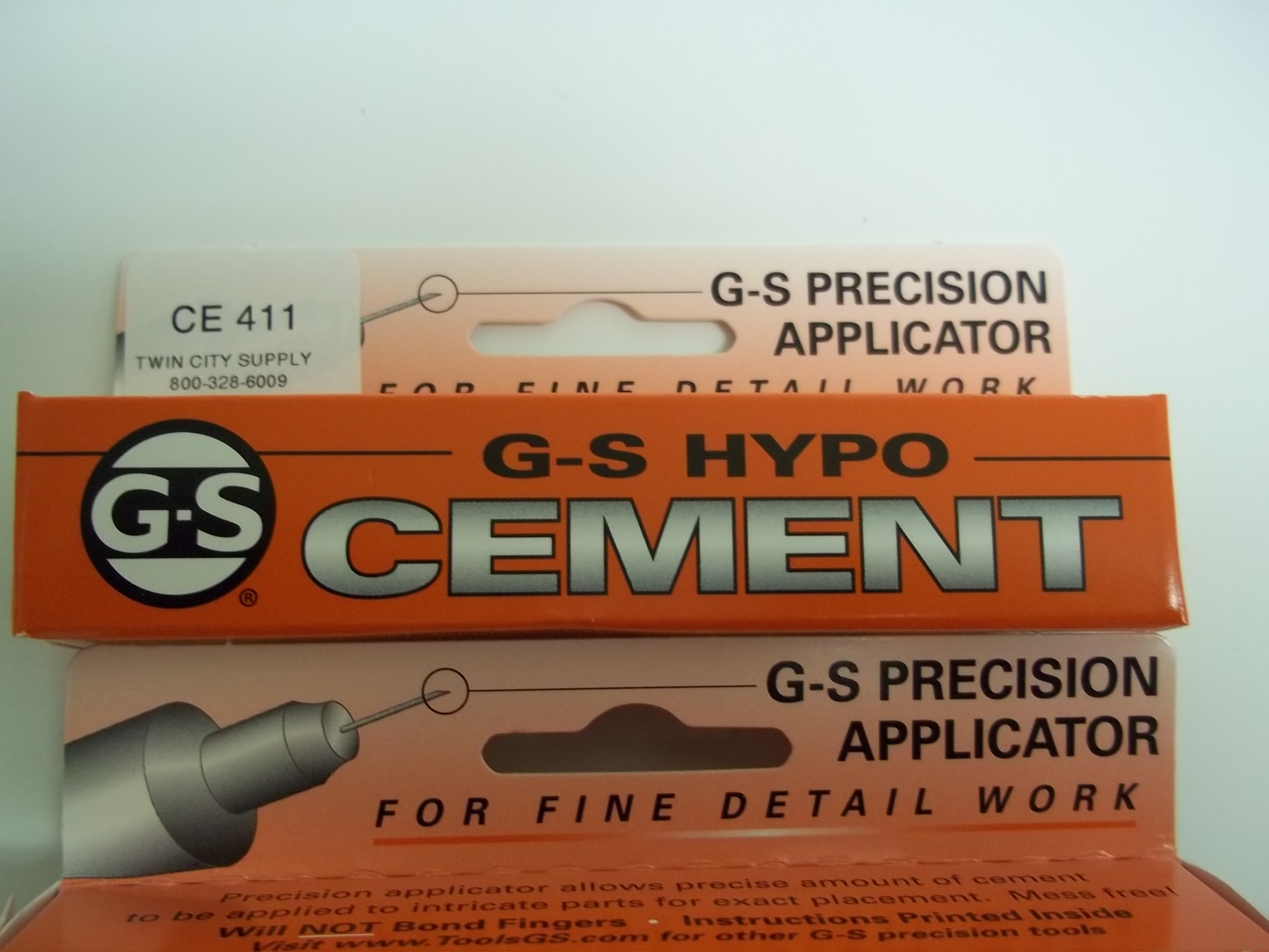 CE411 G-S Hypo Cement--Excellent for Watch Crystals & Repair Jobs