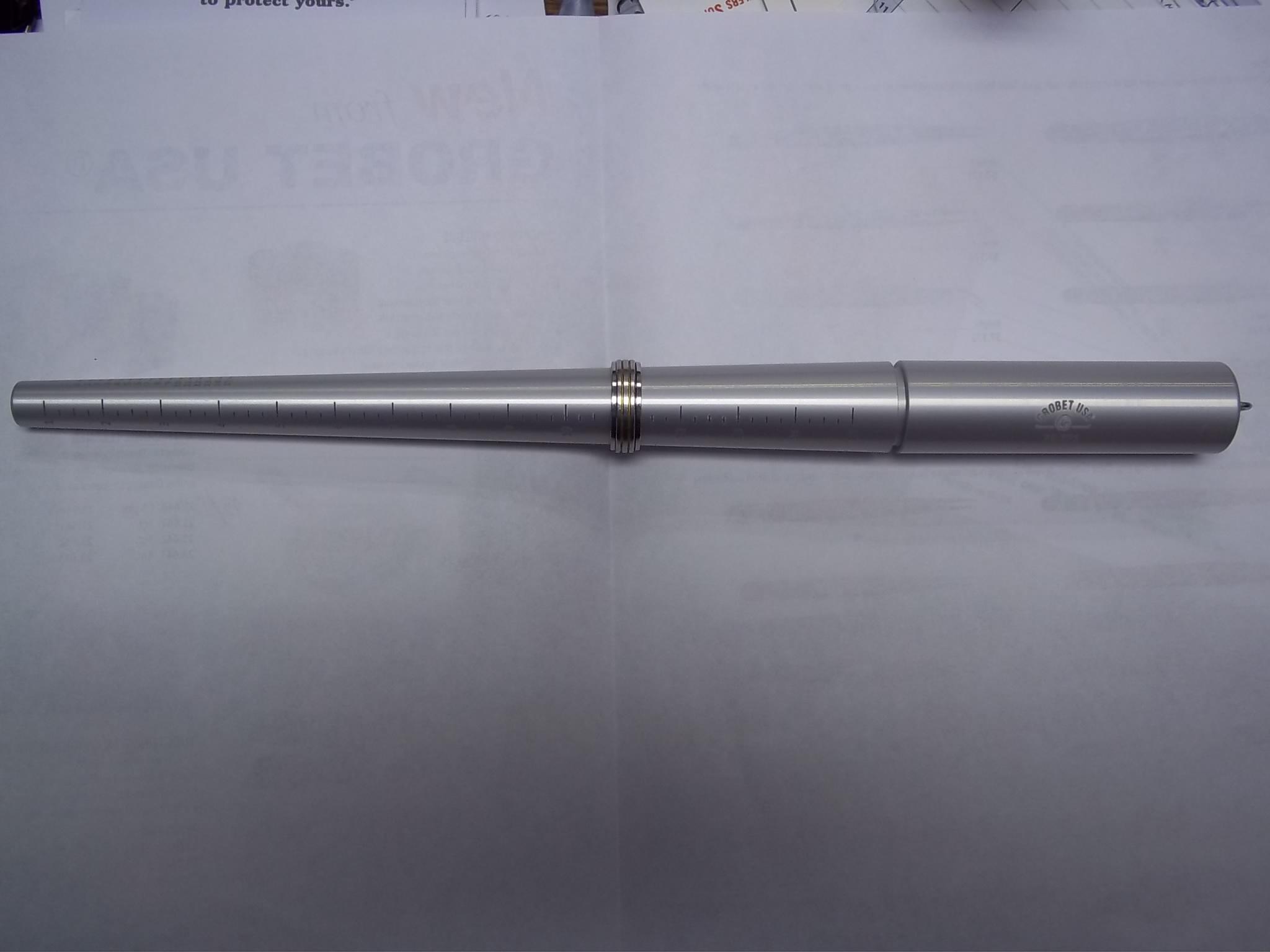 GA271 Aluminum Ring Stick sizes 1-15 (Non grooved) Grobet #35.271