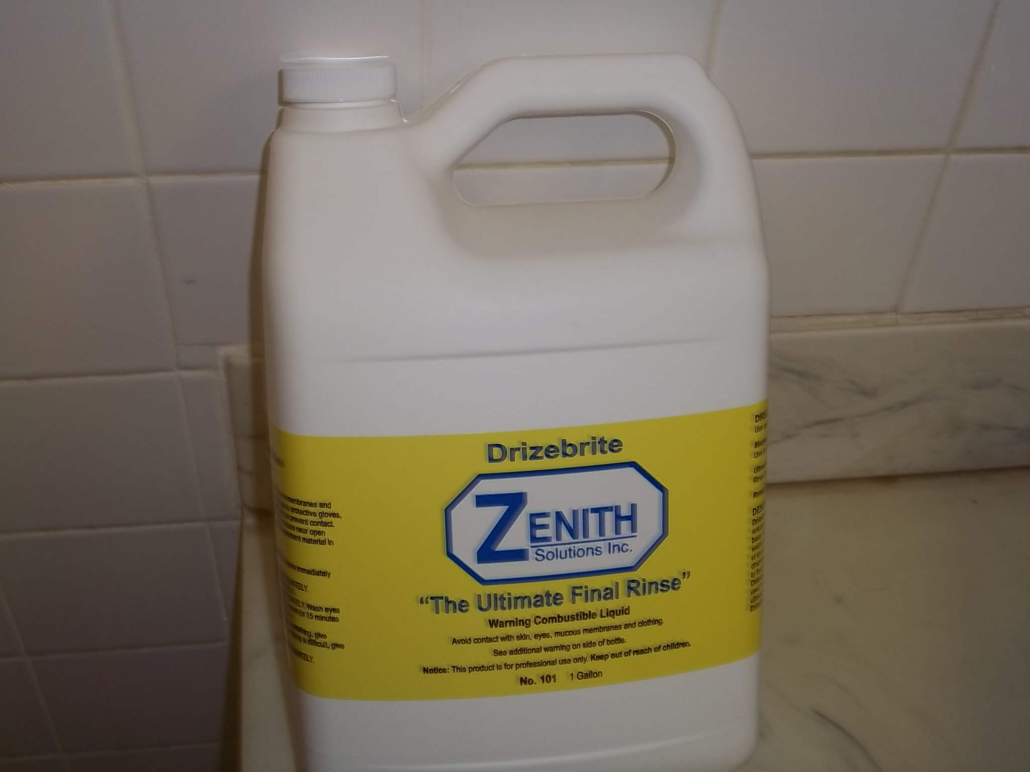 CL0290 Zenith Drizebrite Ultimate Final Rinse  #101