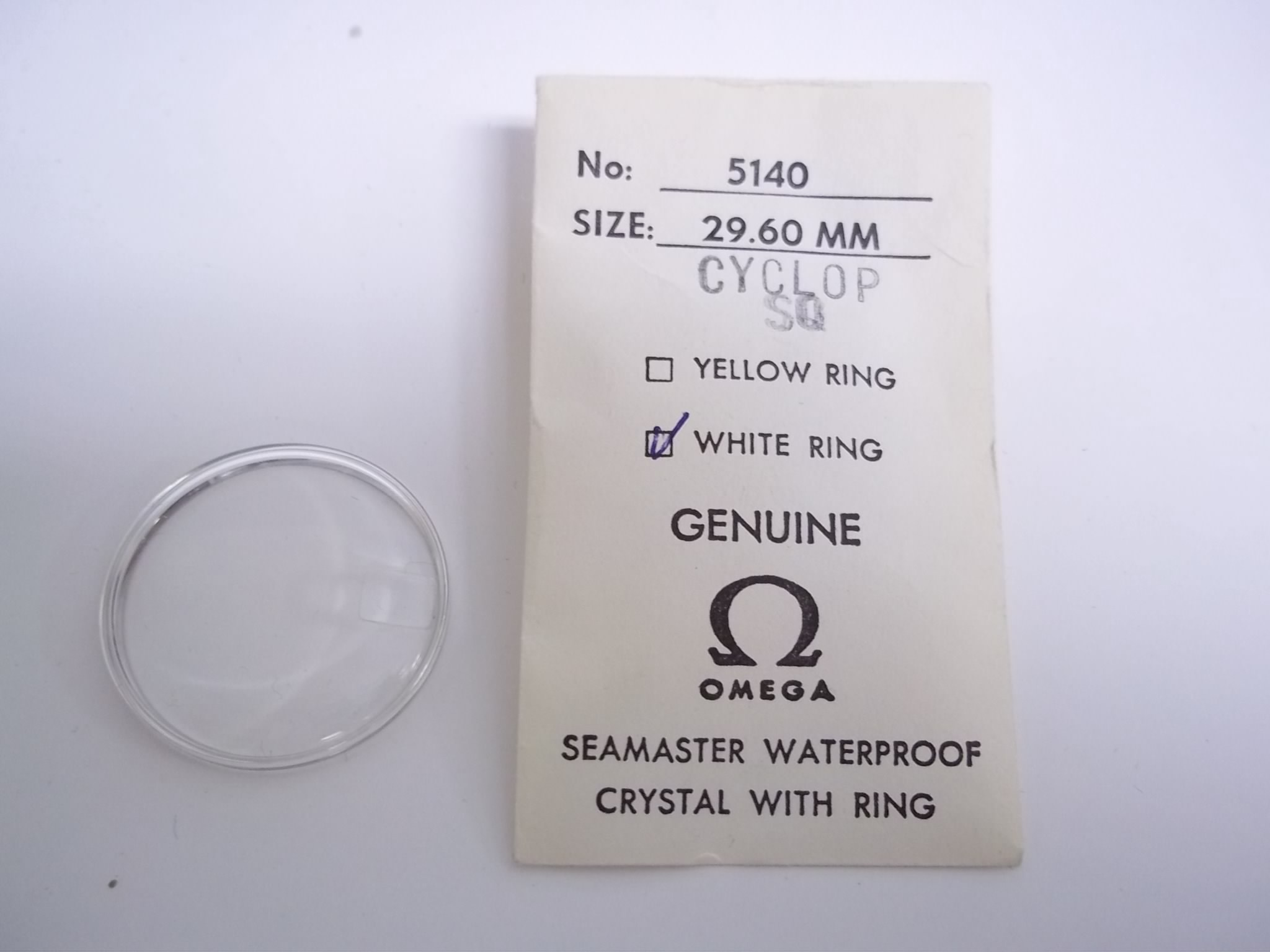 how to remove a date magnifier from a watch crystal