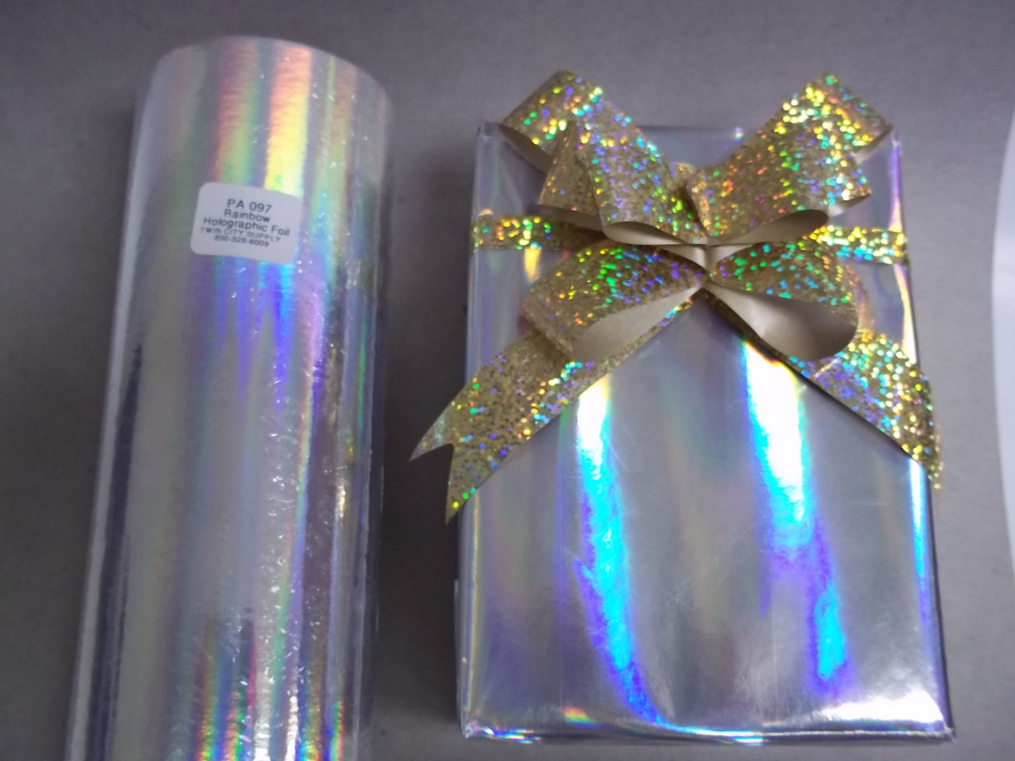 "PA097 Holographic Foil ""Rainbow"" Jewelers Roll"