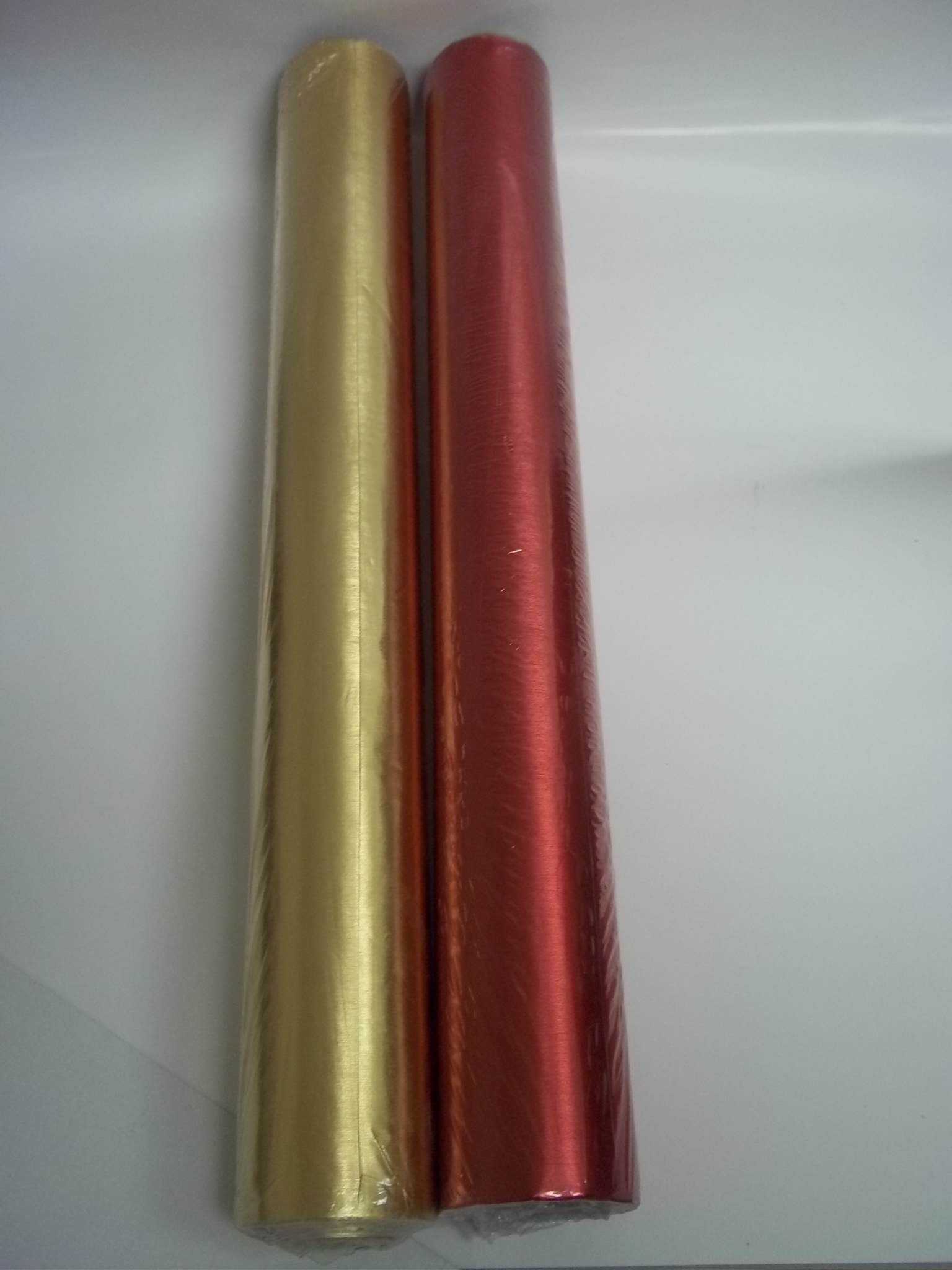 "PA9203 RED Satin Foil Gift Wrapping Paper--20"" x 100"""