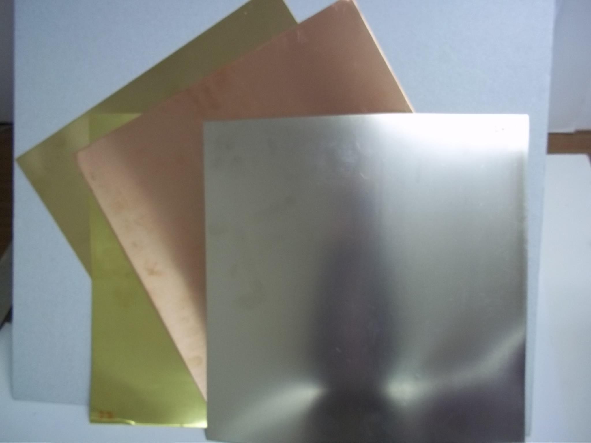 """SC14ga Copper Sheet 14 Gauge 12"""" x 12"""""""
