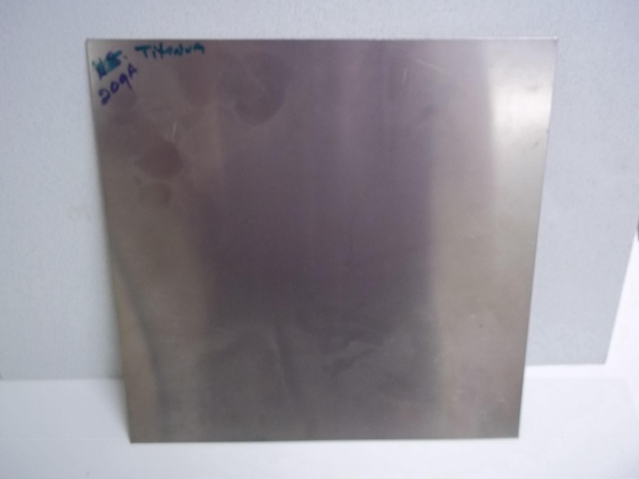 "ST20ga 20 Gauge Titanium 12"" x 12"" sheet Craft Metal"