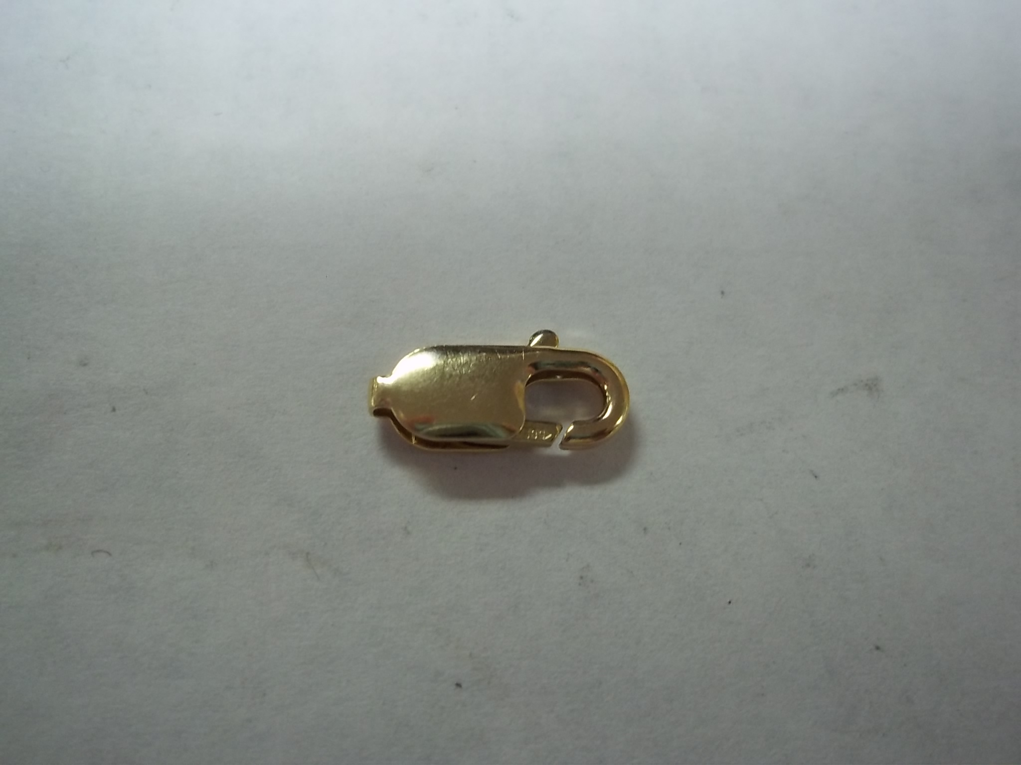 LBC009K  14K Yellow Gold Lobster Claw Clasp