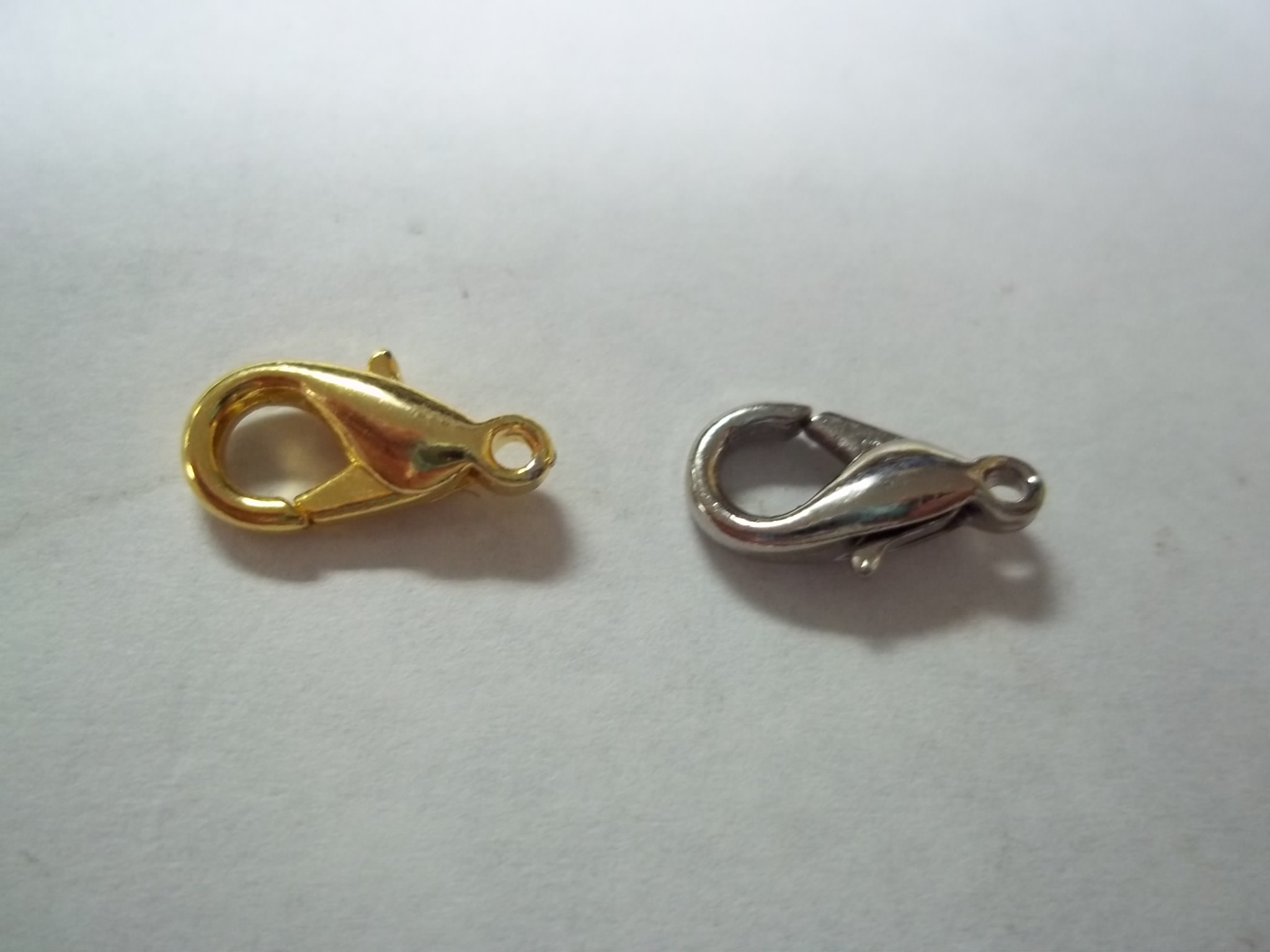 LBC013N Nickle Plated Lobster Claw Clasp