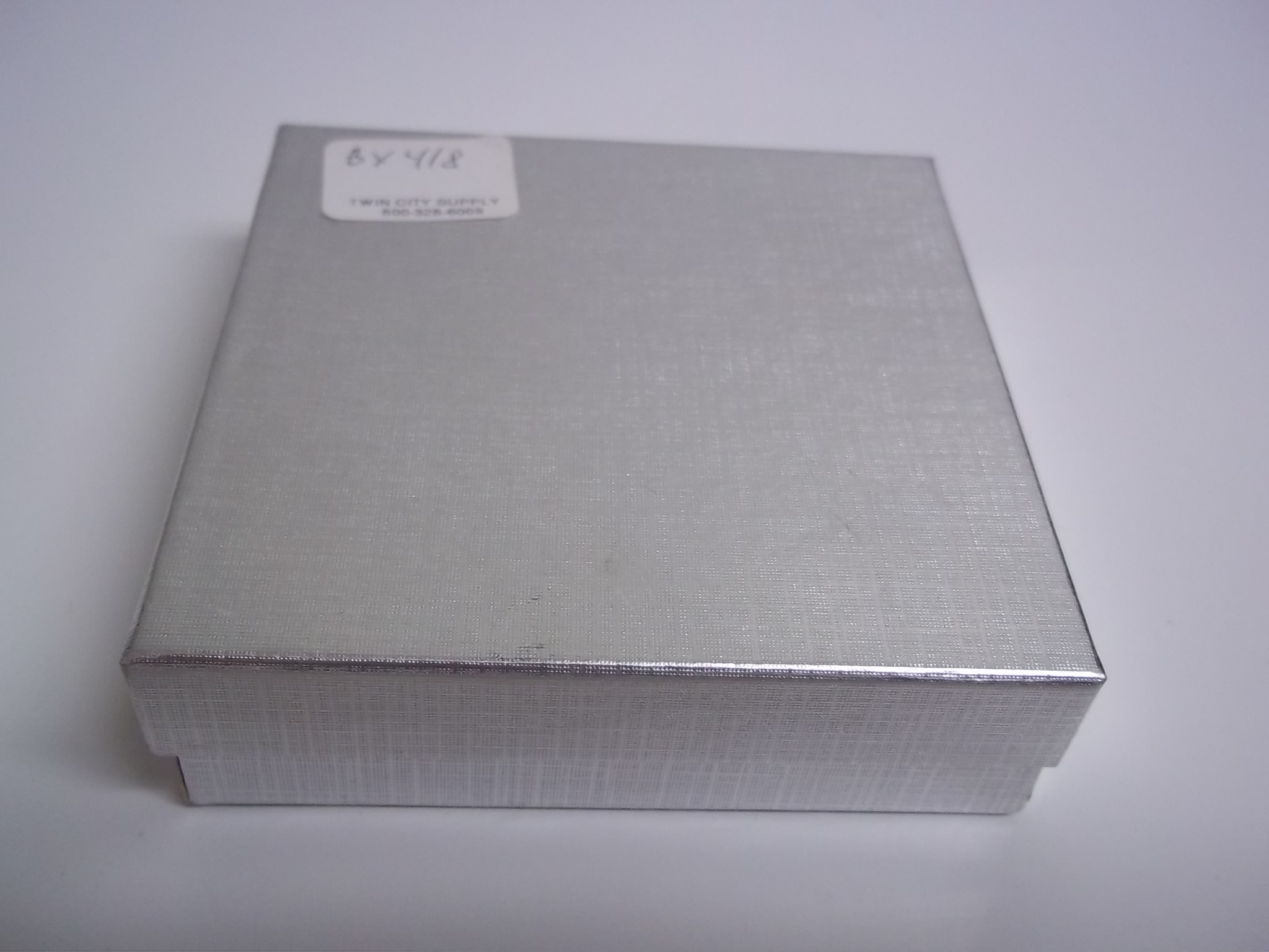 BX418 Cotton Filled Silver Linen PIN Nest Boxes