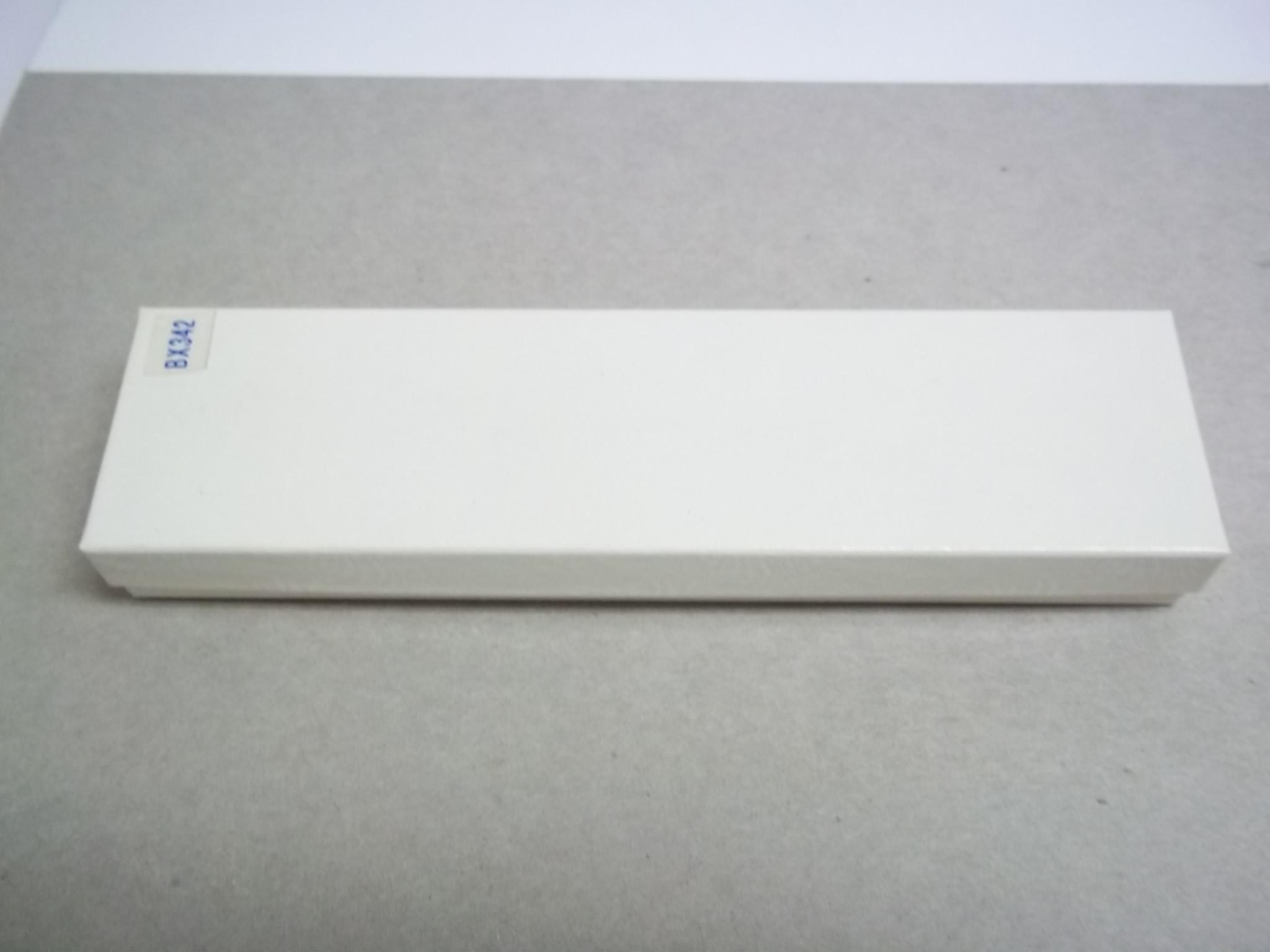 BX342 Cotton Filled White Swirl Bracelet (Watch) Nest Boxes