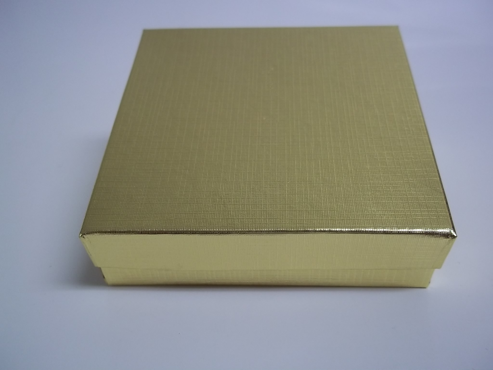 BX218 Cotton Filled Gold Linen PIN Nest Boxes