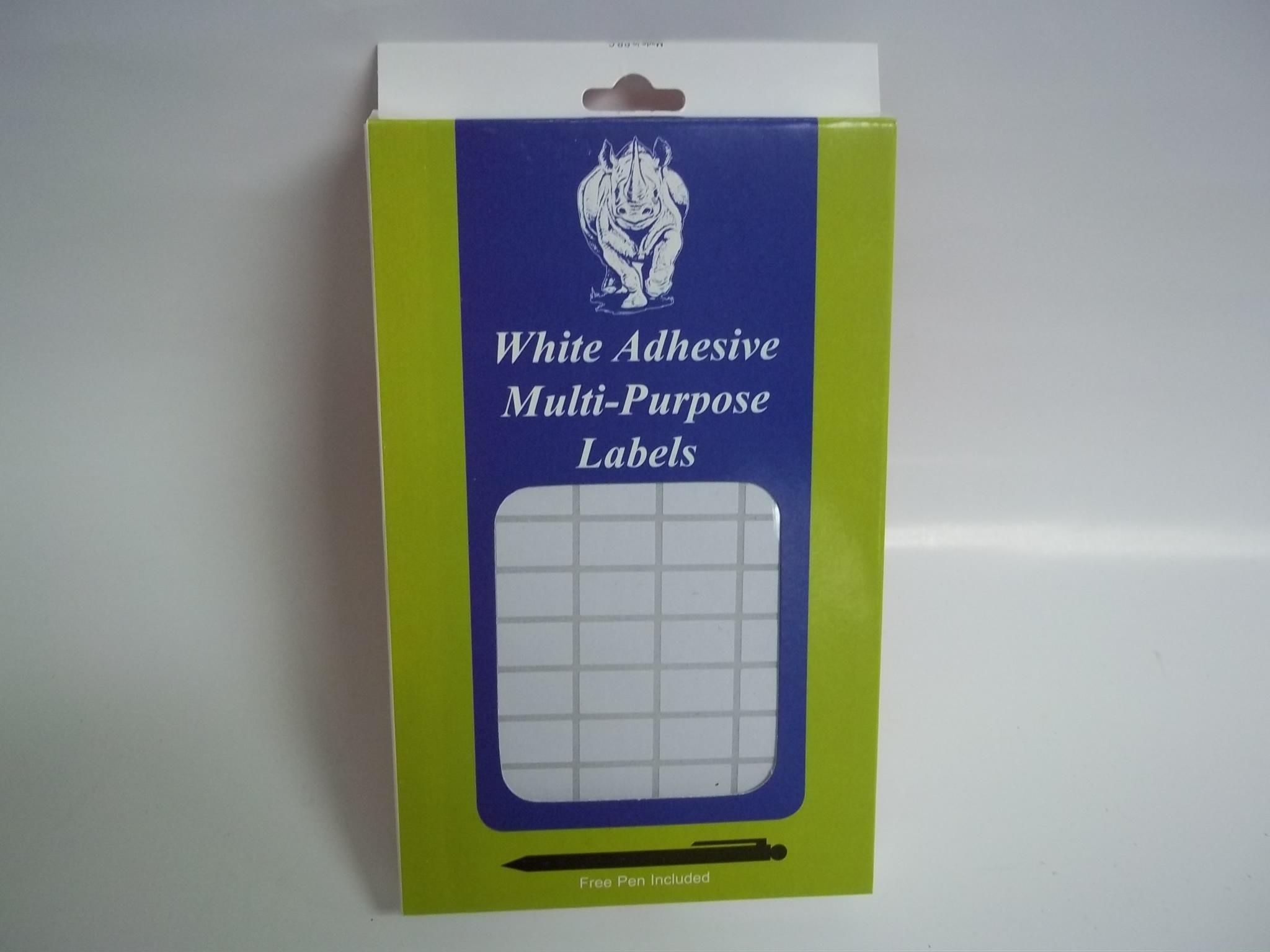 MT610S White Adhesive Multi-Purpose Labels