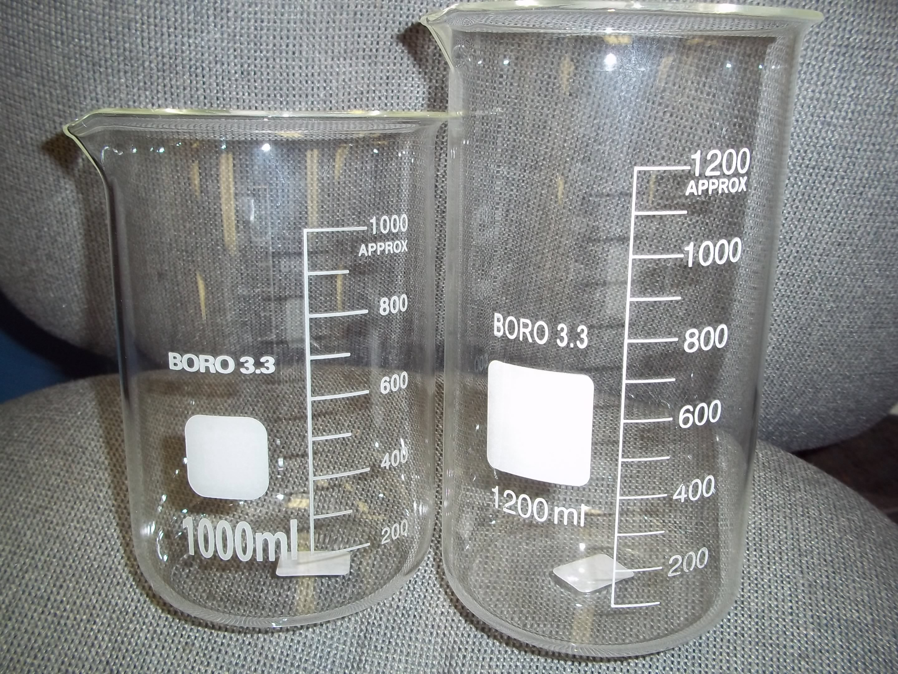 PM45.649 1000ML Beakers- New from Grobet!