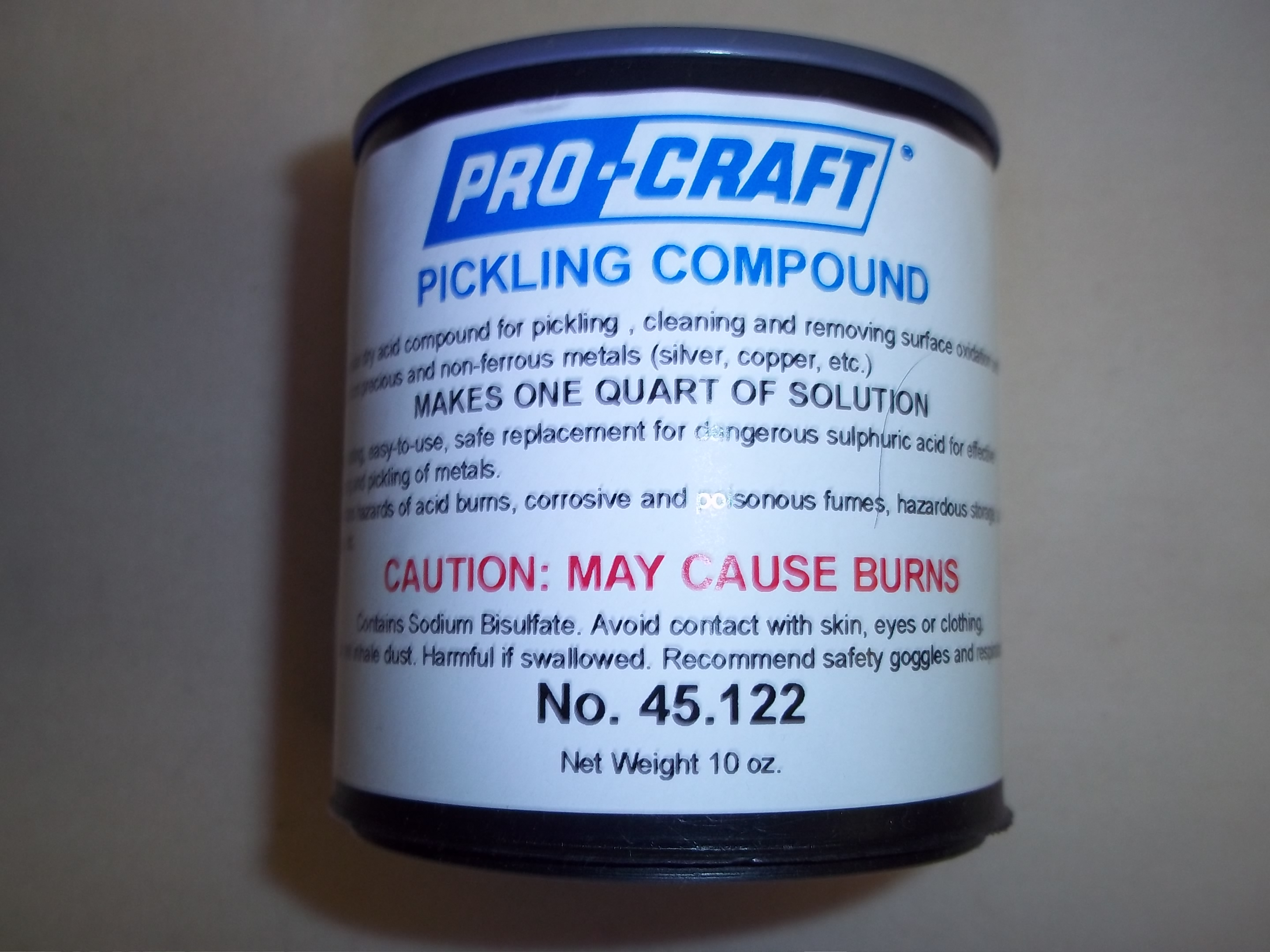 45.124 Pro-Craft Pickle  Pickling Compound 2 1/2 lb can