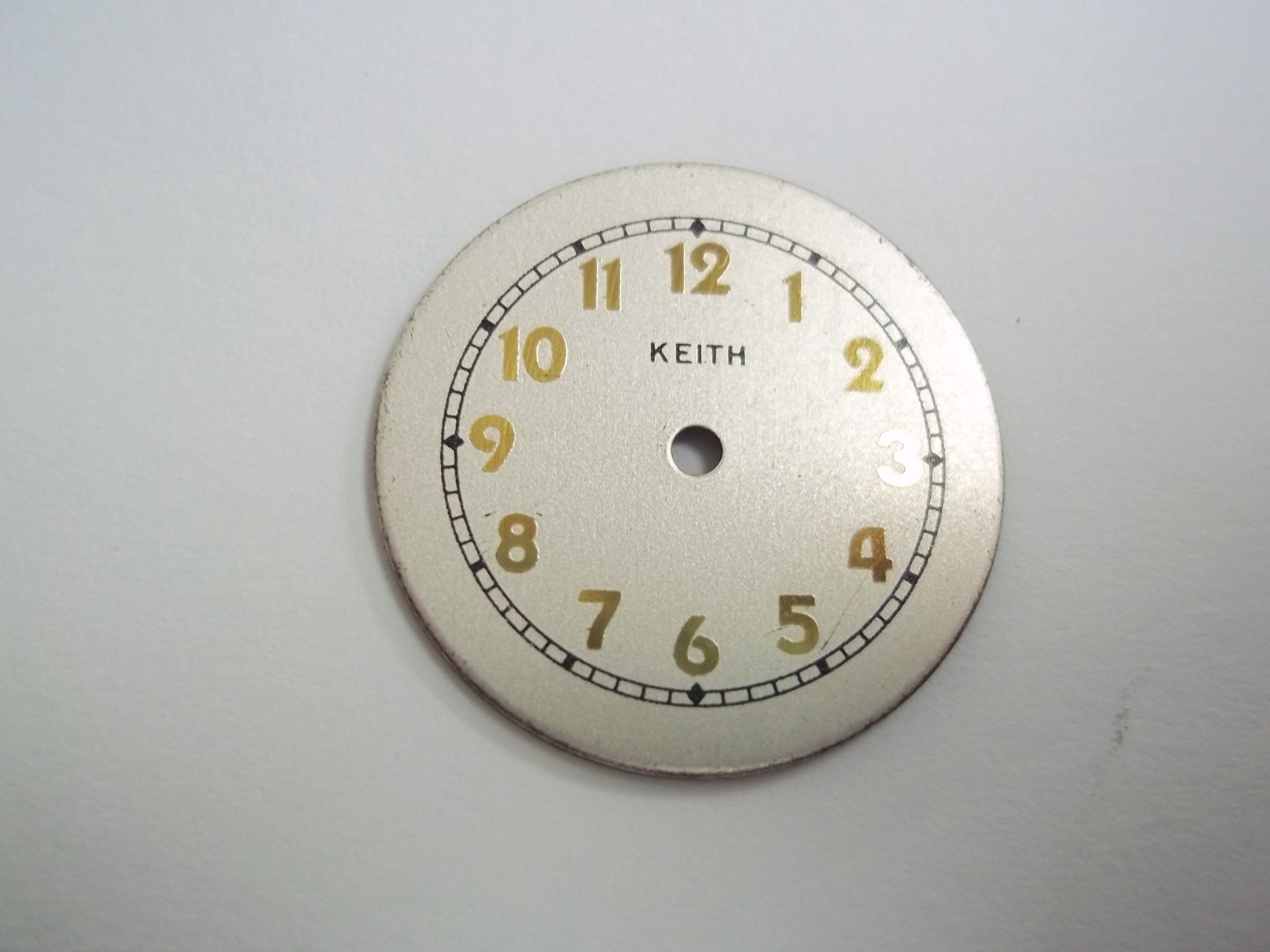 WD-K101 Keith Watch Dial--as is