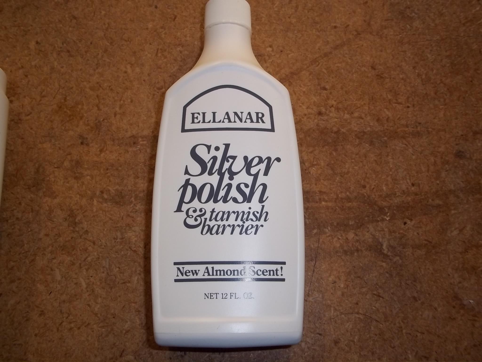 CL177 Ellanar Silver Polish  & Tarnish Barrier from L&R  12 fl oz. Bottle
