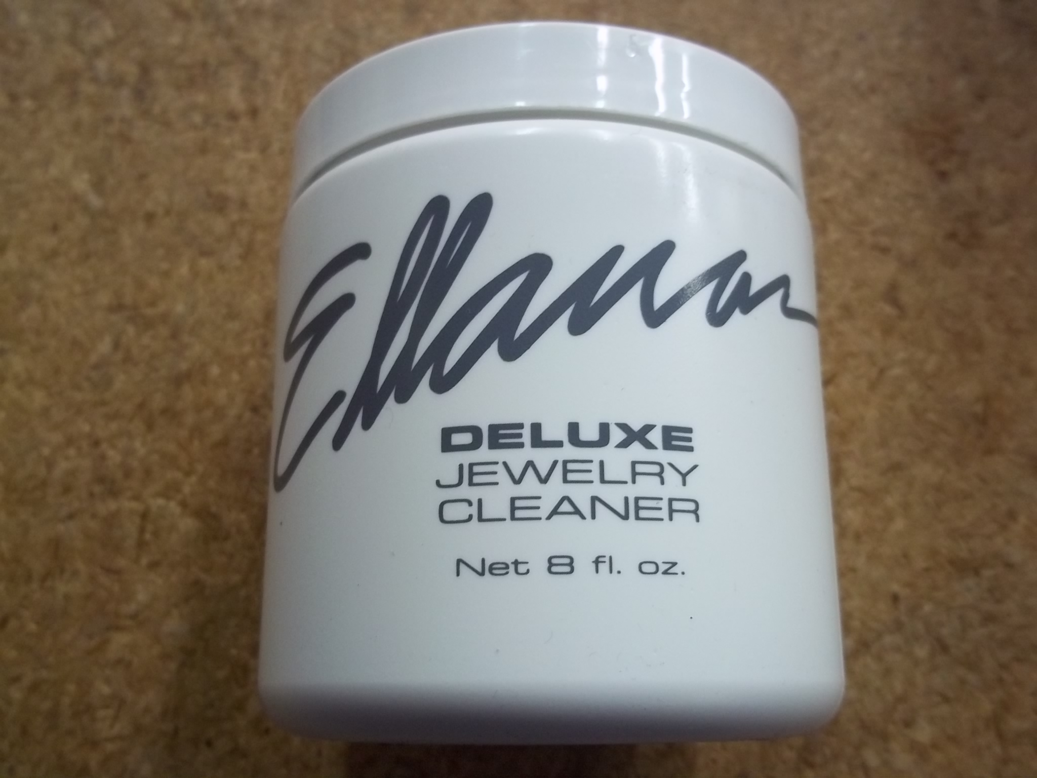 CL296/36 Ellanar Deluxe Jewelry Cleaner  8 fl. oz-- from L&R case of 36