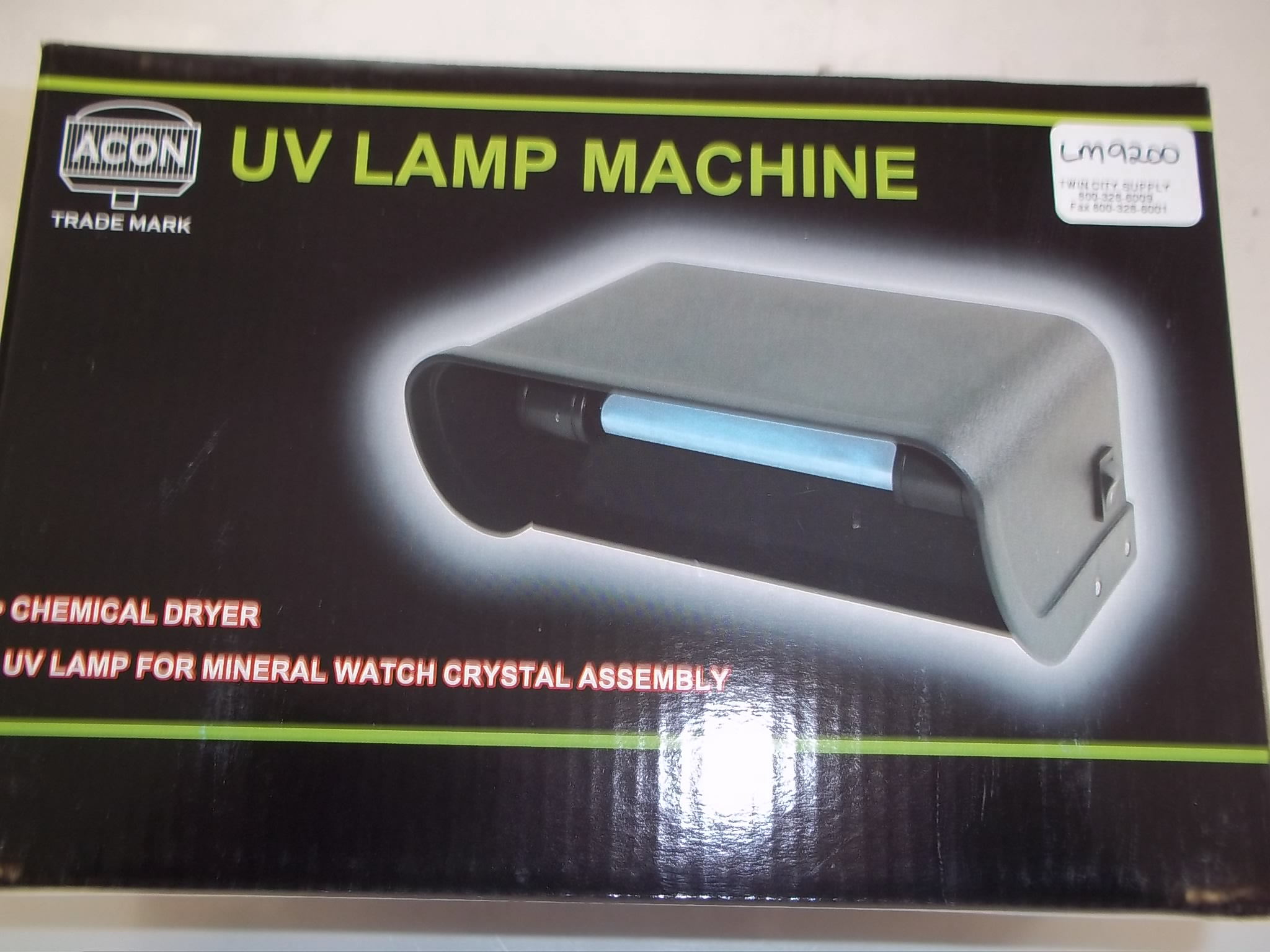 LM9200 UV Lamp for Curing Watch Crystals
