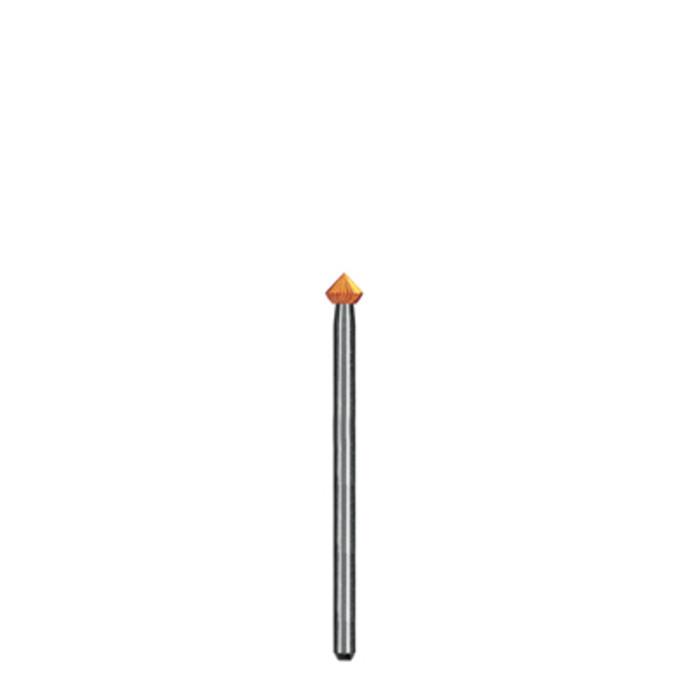BR1753/15 Dedeco Goldies High Speed Steel Burs- 90* Bearing Cutter, 3/32nd Shank