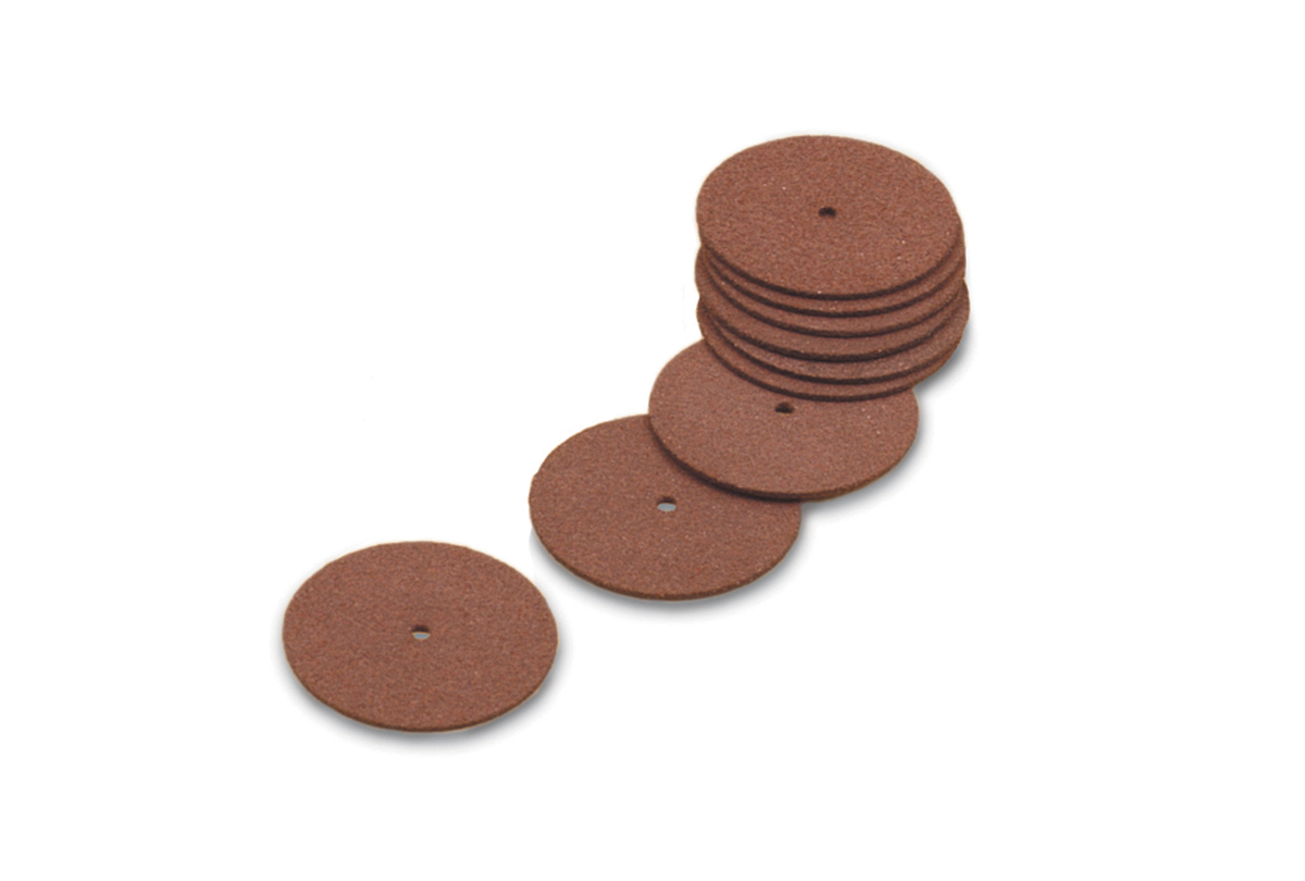 "10.540 Cut-Off Wheels, 1-1/2"" x .025"", Aluminum Oxide- Grobet"
