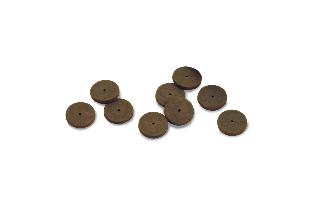 "10.687-Brightboy Miniature Wheels- 5/8"" Tapered/Knife- Grobet- Discontinued item-1 left!"