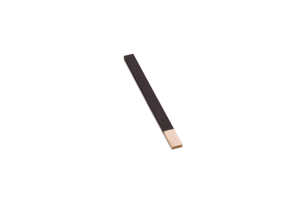 "BF921-4/0 Wood Flat Emery Sticks, 11"" x 3/4"", Grit # 4/0, Grobet # 11.340"