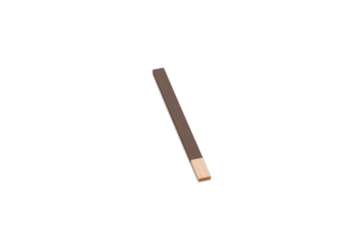 "BF921/1 Wood Flat Emery Sticks, 11"" x 3/4"", Grit # 1, Grobet # 11.344"