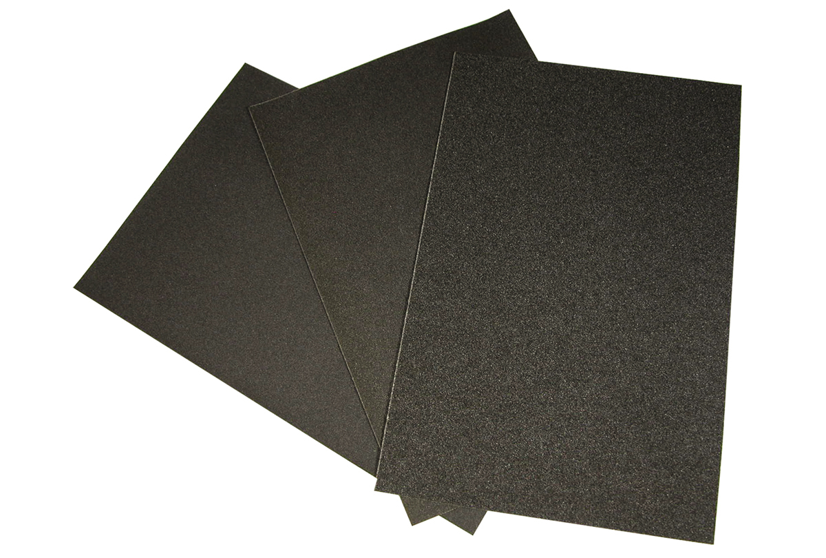 EM776-2/0 Grobet USA Emery Paper Sheets Grit 2/0 (500)- #11.369