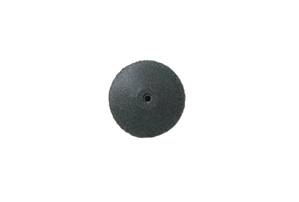 "ST2278 Pacific Silicone Carbide Abrasive Knife Edge Wheels, 7/8"" x 1/8"", Dark Grey, Coarse-Grobet # 11.816"
