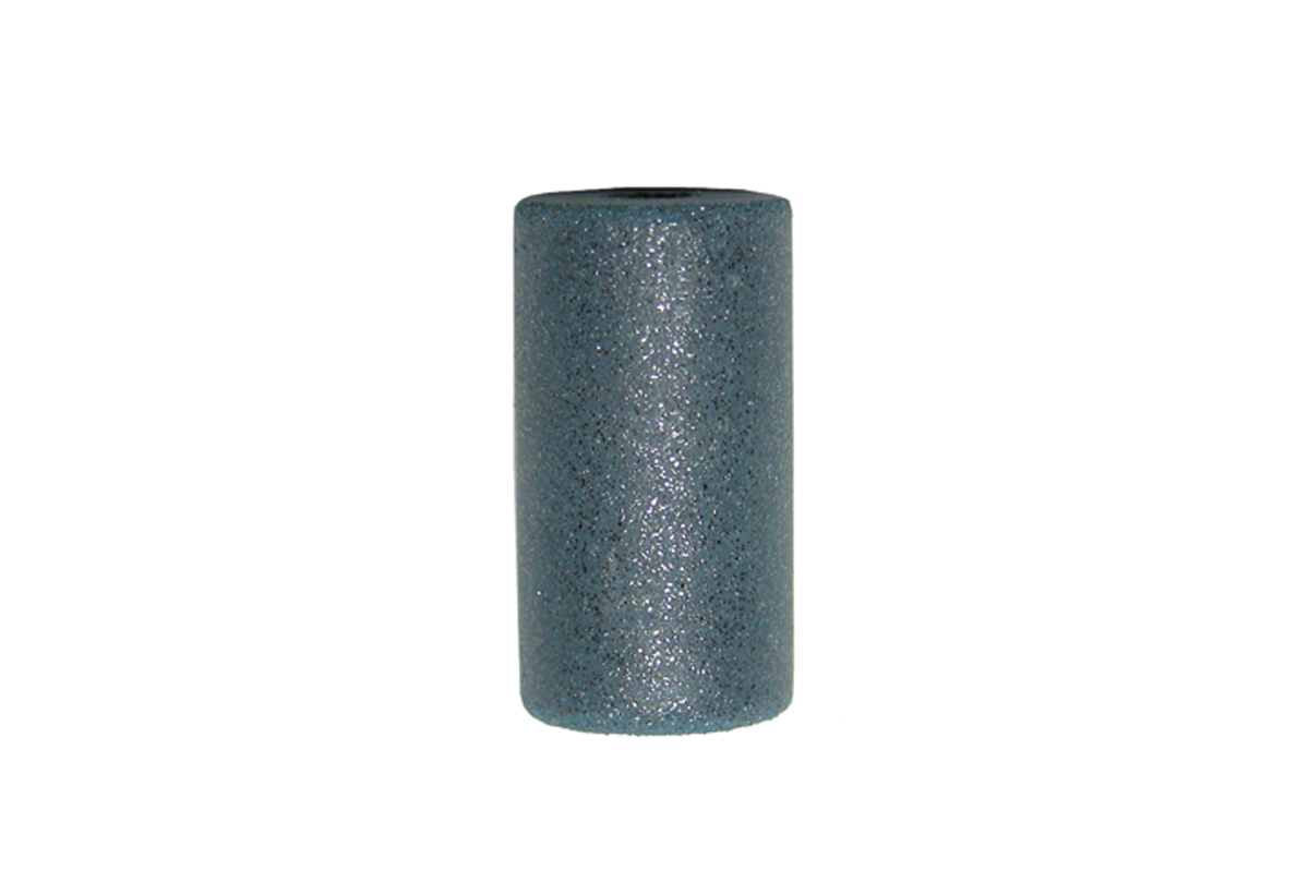"ST105 Pacific Silicone Carbide Abrasive Cylinders, 1"" x 1/2"", Blue, Coarse, Pkg of 12- Grobet #11.845"