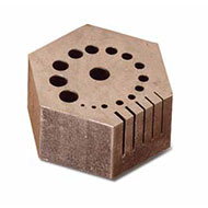 AN116 Hexagon Anvil - Eurotool #ANV-170.00