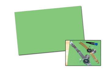 BN13.365 Green Anti-Static Mat for Watchmakers--Grobet