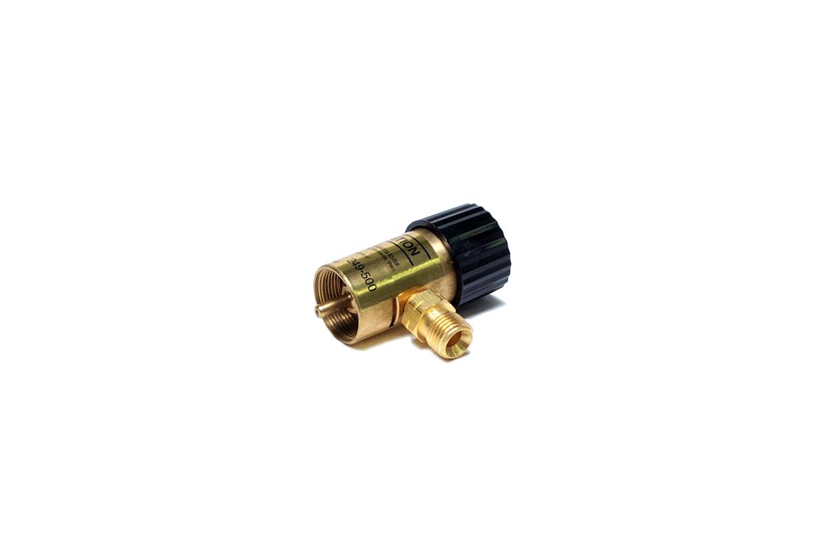 BT273/2 SMITH Torch Regulators & Inlet Connnections-Oxygen Grobet # 14.041