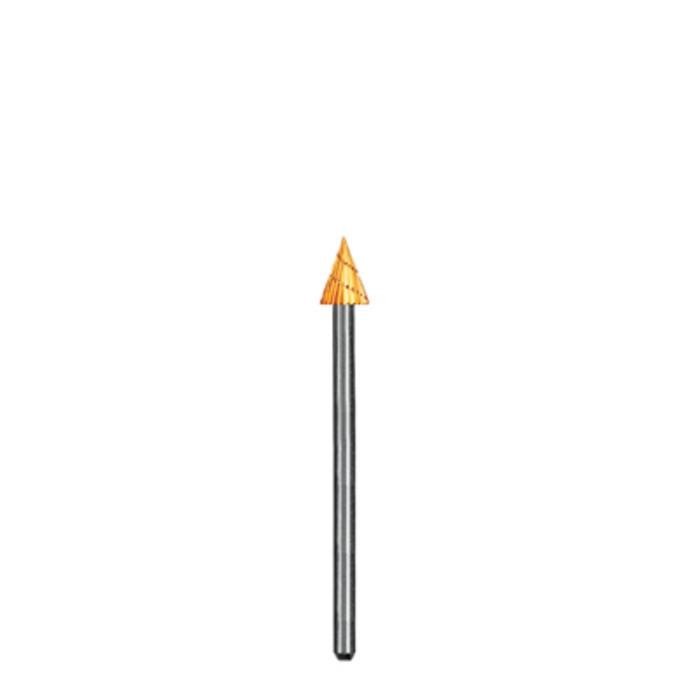 BR1752/20 Dedeco Goldies High Speed Steel Burs- CONE, 3/32nd Shank