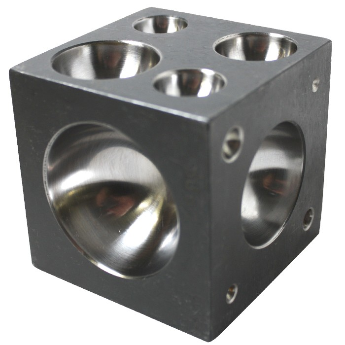 """DP158 2"""" Dapping Block (Cube) - PePe Tools #158.00"""