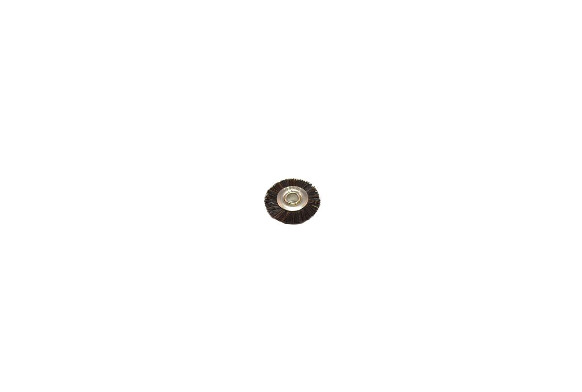 """BU1177 Medium Bristle Wheel Brush, 5/8"""" Diameter 1/8"""" Arbor Hole- Grobet # 16.648"""