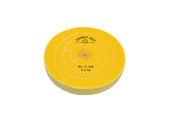 "BF896 Yellow Chemkote Buff, 6"" x 50 Ply, Shellac Center--Grobet"