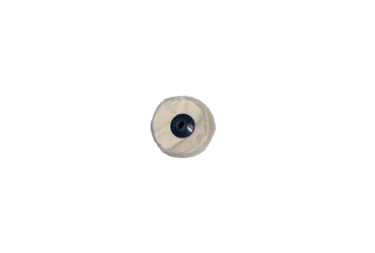 "BF767 Finex Muslin Buffs-- 3""  with plastic center--Grobet #17.716"